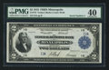 Large Size:Federal Reserve Bank Notes, Fr. 772 $2 1918 Federal Reserve Bank Note PMG Extremely Fine 40.. ...