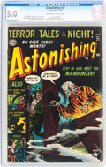 Golden Age (1938-1955):Horror, Astonishing #21 (Atlas, 1953) CGC VG/FN 5.0 Off-white to whitepages....