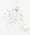 Animation Art:Production Drawing, The Beatles Yellow Submarine Ringo Starr Animation Drawing(United Artists/King Features, 1968)....