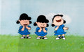 Animation Art:Production Cel, Peanuts The Charlie Brown and Snoopy Show Lucy ProductionCels Sequence with Animation Drawings (Bill Melendez, 19... (Total:6 )