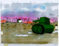 Animation Art:Production Cel, Peanuts The Charlie Brown and Snoopy Show Snoopy ProductionCel (Bill Melendez, 1983)....
