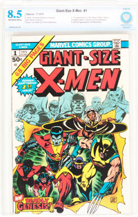 Giant-Size X-Men #1 (Marvel, 1975) CBCS VF+ 8.5 Off-white to white pages