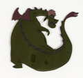 Animation Art:Production Cel, Pete's Dragon Elliot Production Cel (Walt Disney, 1977)....