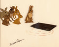 Animation Art:Production Cel, Watership Down Production Cel (Avco Embassy/Warner Brothers,1978)....