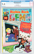 Bronze Age (1970-1979):Cartoon Character, Richie Rich Gems #1 (Harvey, 1974) CGC NM 9.4 Off-white pages....