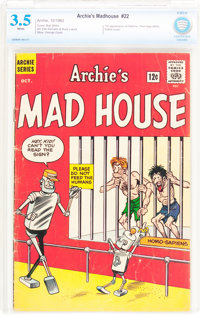 Archie's Madhouse #22 (Archie, 1962) CBCS VG- 3.5 White pages
