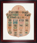 Fractional Currency:Shield, Fractional Currency Shield, With Pink Background.. ...
