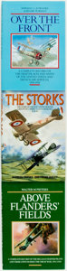 Books:World History, [World War I Aviation]. Group of Three Books. London: Grub Street, [1992 and 1998].... (Total: 3 Items)