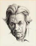 Fine Art - Work on Paper:Print, Thomas Hart Benton (American, 1889-1975). Self-Portrait.Lithograph on paper. 14 x 10-7/8 inches (35.6 x 27.6 cm) (image...