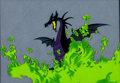 Animation Art:Production Cel, Sleeping Beauty Maleficent as Dragon Production Cel Setup (Walt Disney, 1959)....