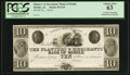 Obsoletes By State:Alabama, Mobile, AL- Planters & Merchants' Bank of Mobile $10 G10 Rosene UNL Proof. ...