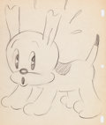 Animation Art:Production Drawing, Betty Boop Pudgy Animation Drawing Group of 2 (MaxFleischer, 1934).... (Total: 2 )