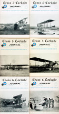 Books:Periodicals, [Periodical, Aviation]. Six Issues of Cross & CockadeJournal. The Society of World War I Aero Historians, 1970 ...(Total: 6 Items)