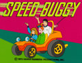 Animation Art:Production Cel, Speed Buggy Title Cel Setup (Hanna-Barbera, 1973)....