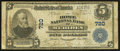 National Bank Notes:Connecticut, Meriden, CT - $5 1902 Plain Back Fr. 598 The Home NB Ch. # 720. ...