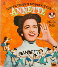 Animation Art:Limited Edition Cel, Mickey Mouse Club/Annette Funicello Ephemera Group of 7 (c.1950s-60s).... (Total: 7 Items)