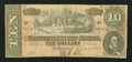 Confederate Notes:1864 Issues, T68 $10 1864 PF-1 Cr. 504.. ...