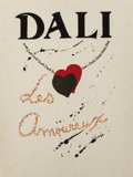 Prints:Contemporary, Salvador Dalí (Spanish, 1904-1989). Les Amoureux (portfolioof three works), 1979. The complete portfolio of three offse...