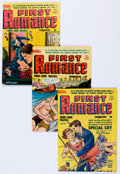 Golden Age (1938-1955):Romance, First Romance File Copies Group of 25 (Harvey, 1950-58) Condition:Average VF-.... (Total: 25 Comic Books)
