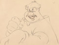 Animation Art:Production Drawing, Fun and Fancy Free Willie the Giant Production Drawing (WaltDisney, 1947). ...