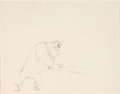 Animation Art:Production Drawing, Baseball Bugs Gas House Gorilla Production Drawing (WarnerBrothers, 1946). ...