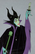 Animation Art:Production Cel, Sleeping Beauty Maleficent Production Cel (Walt Disney,1959)....
