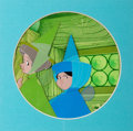 Animation Art:Production Cel, Sleeping Beauty Flora, Fauna, and Merryweather ProductionCel Set Group of 2 (Walt Disney, 1959).... (Total: 2 Items)