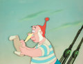 Animation Art:Production Cel, Peter Pan Mr. Smee Production Cel (Walt Disney, 1953)....