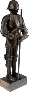 Militaria:Armor, Victorian Era Miniature Suit of German Armor of the 15th CenturyStyle....