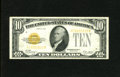 Small Size:Gold Certificates, Fr. 2400 $10 1928 Gold Certificate. Choice Very Fine.. Fresh paper surfaces and radiant ink colors are both easily discernib...