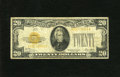 Small Size:Gold Certificates, Fr. 2402 $20 1928 Gold Certificate. Fine.. A lovely example for the grade as this note is moderately circulated with broad m...