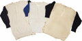 Baseball Collectibles:Hats, Casey Stengel Worn Undershirts from the Stengel Collection, Lot of 3. This trio of undershirts comes to us via the Casey St...