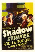 "Movie Posters:Mystery, The Shadow Strikes (Grand National, 1937). One Sheet (27"" X 41"")...."