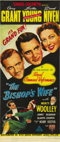 """Movie Posters:Comedy, The Bishop's Wife (RKO, 1948). Australian Daybill (13"""" X 30""""). ..."""