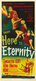 "Movie Posters:Academy Award Winner, From Here to Eternity (Columbia, 1953). Australian Daybill (13.5"" X 30""). ..."