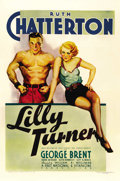 "Movie Posters:Drama, Lilly Turner (Warner Brothers, 1933). One Sheet (27"" X 41""). ..."