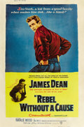 "Movie Posters:Drama, Rebel Without a Cause (Warner Brothers, 1955). Poster (40"" X 60"")Style Z. ..."