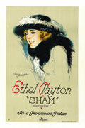 "Movie Posters:Drama, Sham (Paramount, 1921). One Sheet (27"" X 41""). Style B...."