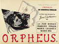 "Movie Posters:Fantasy, Orpheus (DisCina, 1950). British Quad (30"" X 40""). ..."