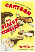 "Movie Posters:Animated, The Peachy Cobbler (MGM, 1950). One Sheet (27"" X 41""). ..."