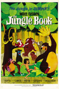 "Movie Posters:Animated, The Jungle Book (Buena Vista, 1967). One Sheet (27"" X 41"") and Half Sheet (22"" X 28""). ... (Total: 2 Items)"