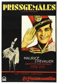 "Movie Posters:Comedy, The Love Parade (Paramount, 1929). Swedish One Sheet (26.5"" X 39"")...."