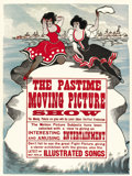"""Movie Posters, Edison Poster (ca. 1900). One Sheet (21"""" X 28"""")...."""
