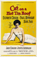 "Movie Posters:Drama, Cat on a Hot Tin Roof (MGM, 1958). One Sheet (27"" X 41""). ..."