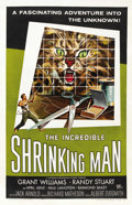 "Movie Posters:Horror, The Incredible Shrinking Man (Universal International, 1957). OneSheet (27"" X 41""). ..."