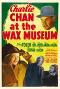 "Movie Posters:Mystery, Charlie Chan at the Wax Museum (20th Century Fox, 1940). One Sheet(27"" X 41""). ..."