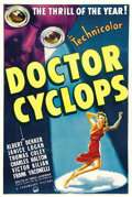"Movie Posters:Horror, Dr. Cyclops (Paramount, 1940). One Sheet (27"" X 41""). ..."