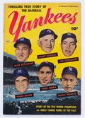 Golden Age (1938-1955):Non-Fiction, Thrilling True Story of the Baseball Yankees #nn (FawcettPublications, 1952) Condition: FN-....