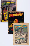 Golden Age (1938-1955):Horror, Adventures Into The Unknown Group of 12 (ACG, 1948-53) Condition:PR.... (Total: 12 Comic Books)
