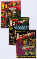 Golden Age (1938-1955):Horror, Astonishing Group of 8 (Atlas, 1951-55) Condition: Average FR....(Total: 8 Comic Books)